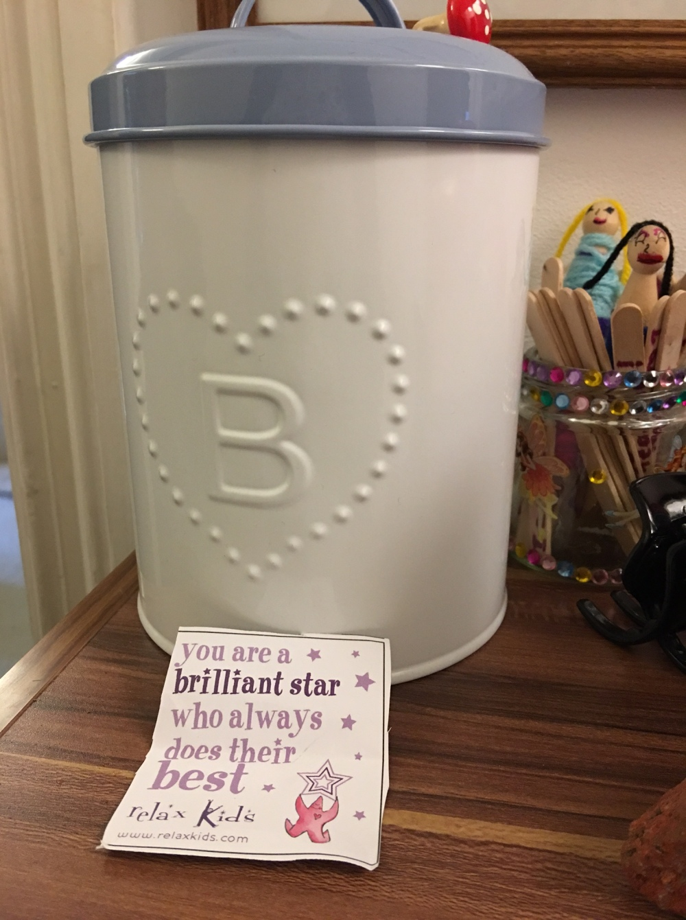 Blog - affirmation jar