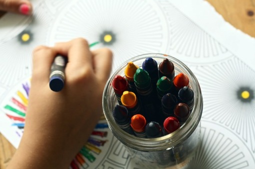 Photo - play - crayons